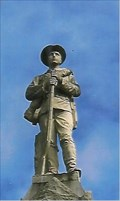 Image for Confederate Soldier on County Monument - Cedartown, GA
