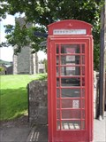 Image for Red Box, Broad Street, Llanfair Caereinion, Powys, Wales, UK