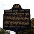 Image for Rhoads Opera House Fire - Boyertown, PA