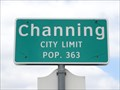 Image for Channing, TX - Population 363