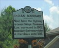 Image for INDIAN BOUNDARY - Q-32 - Sylva