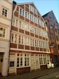 Image for Das letzte Fachwerkgiebelhaus im Stadtteil, Hamburg, Germany