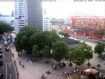 Webcam Berlin Gedächtniskirche