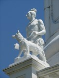 Image for Indian Hunter with Dog - Louisville, Kentucky