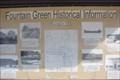 Image for Fountain Green Historical Info Kiosk