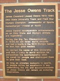 Image for The Jesse Owens Track - Columbus, OH