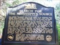 Image for Search for the Mississippi's Source - Itasca State Park - MN