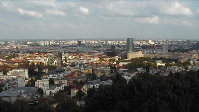 This is a screenshot from view number 9 of web camera Slavín (17-09-2014).