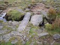 Image for Two Slab Granite Clapper Bridge, Devonport Leat, South Dartmoor.