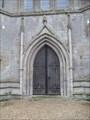 Image for West Door - Church of All Saints, Tilney All Saints, Norfolk.