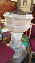 Image for Baptism Font - St Mary - Capel St Mary, Suffolk