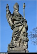 Image for St. Augustine on Charles Bridge / Sv. Augustýn na Karlove moste (Prague)