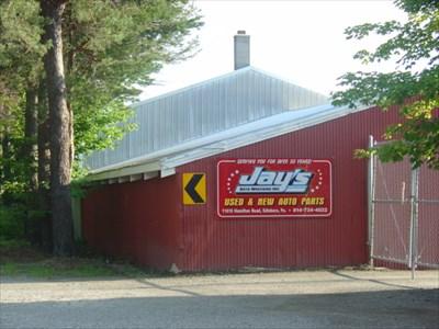 Jay's Auto Wrecking - Edinboro, PA - Automobile Salvage