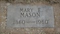 Image for 100 - Mary E. Mason - Summit View Cemetery - Guthrie, OK