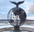 Image for Commonwealth Air Force Memorial Globe - Ottawa, Ontario