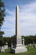 Image for Hale Wheeler Obelisk -- Mt. Vernon Cemetery, Atchison KS
