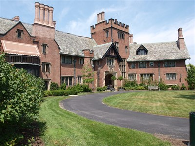 Stan Hywet Hall Frank A Seiberling House Akron Ohio