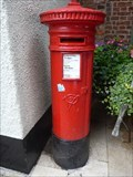 Image for Victorian Pillar Box - Knutsford, Cheshire, UK.