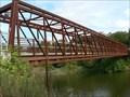 Image for Elora Pedestrian Truss Bridge