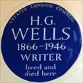 Image for H G Wells - Hanover Terrace, London, UK