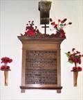 Image for Cronk-y-Voddy Memorial Board  - The Parish Church of St John the Baptist, The Royal Chapel - St. John's, Isle of Man