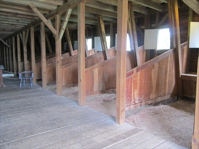 Dragoon Stables at Fort Scott, by MountainWoods