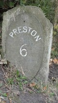 Image for Lancaster Canal 6 Mile Milestone - Salwick, UK
