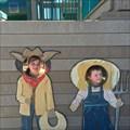 Image for Farm Kids Photo Cutout - Prosper Texas