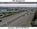 Image for I-90 at Sprague Ave Webcam - Spokane, WA