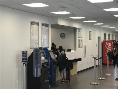 Greyhound Ticketing, 2nd Floor, San Francisco, California
