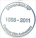 Image for Shenandoah NP-Passport 25th Anniversary 1986-2011 - Luray, VA