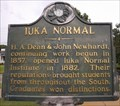 Image for Iuka Normal, Iuka, Tishomingo County, Mississippi
