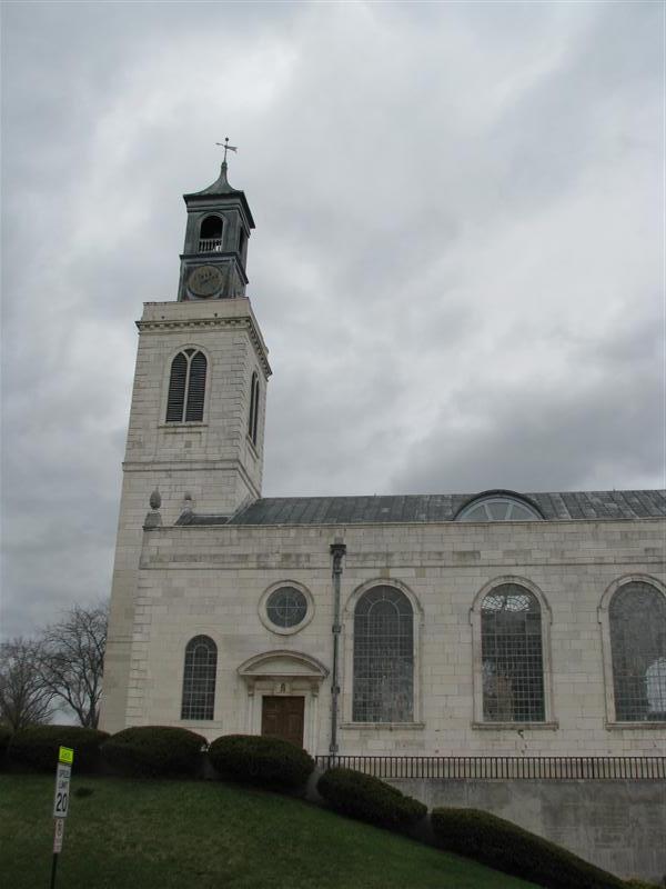 Church of st. mary the virgin fulton