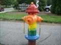 Image for Rainbow Fire Hydrant - West Jefferson, North Carolina
