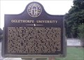 Image for Oglethorpe University - GHM 044-70 - Dekalb Co., Ga.