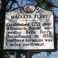 Image for Mackeys Ferry, Marker B-22