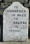 Image for Milestone - Burnley Road, Skircoat, Yorkshire, UK.