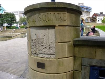 Swansea Blitz - Castle Square - Swansea - Wales.