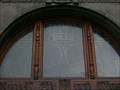 Image for The windows above the doors of Town Hall, Klatovy, CZ, EU