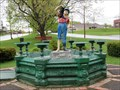 Image for Boy and the Boot Fountain - Houlton, ME