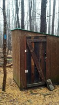 Image for Tamarack Lean-To Outhouse - South Danby, NY