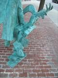 Image for Edgar Allen Poe - Various Works - Poe Returns to Boston Statue - Boston, MA