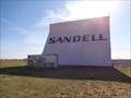 Image for Sandell - Drive-In Movie Theatre - Claredon, Texas, USA.