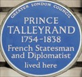 Image for Prince Talleyrand - Brook Street, London, UK
