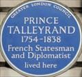 Image for Prince Talleyrand - Brook Street, London, UK