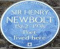 Image for Sir Henry Newbolt - Campden Hill Road, London, UK