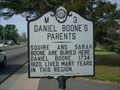 Image for Daniel Boone's Parents