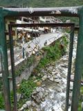 Image for Love padlocks at Puente Sinchi Roca - Machu Picchu Pueblo, Peru
