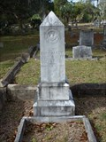 Image for John Burkhardt - Old City Cemetery - Tallahassee, FL