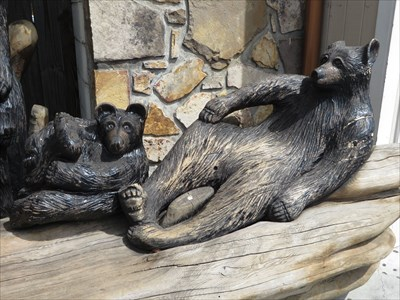 Paws for Thought - Wood Carving - Gatlinburg, TN.